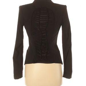 BCBGMAXAZRIA Black Xxsmall Jacket Blazer